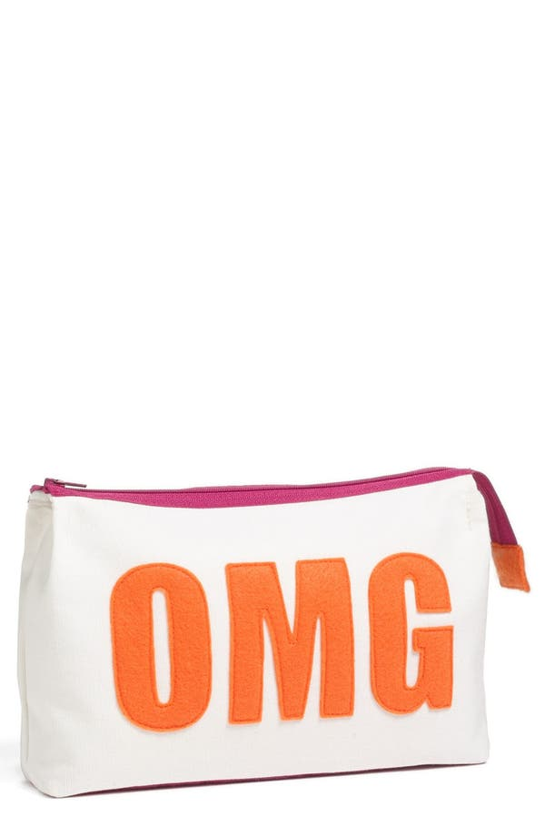Alternate Image 1 Selected - Alexandra Ferguson 'OMG' Fabric Cosmetics Pouch