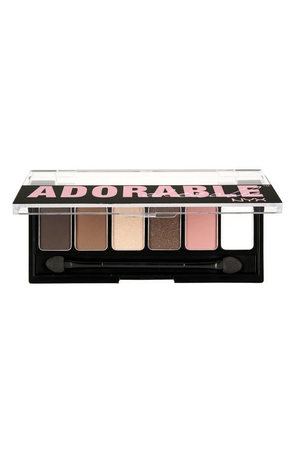 Alternate Image 2  - NYX 'Adorable' Eyeshadow Palette