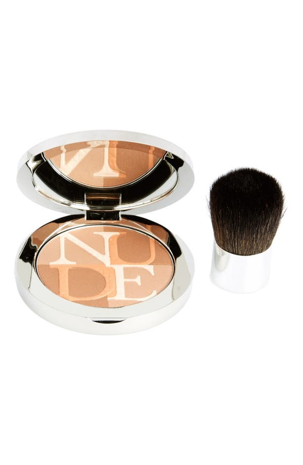 Alternate Image 2  - Dior 'Diorskin' Nude Shimmer Instant Illuminating Powder & Kabuki Brush