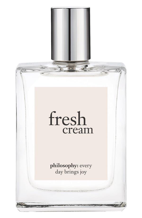 Main Image - philosophy 'fresh cream' eau de toilette