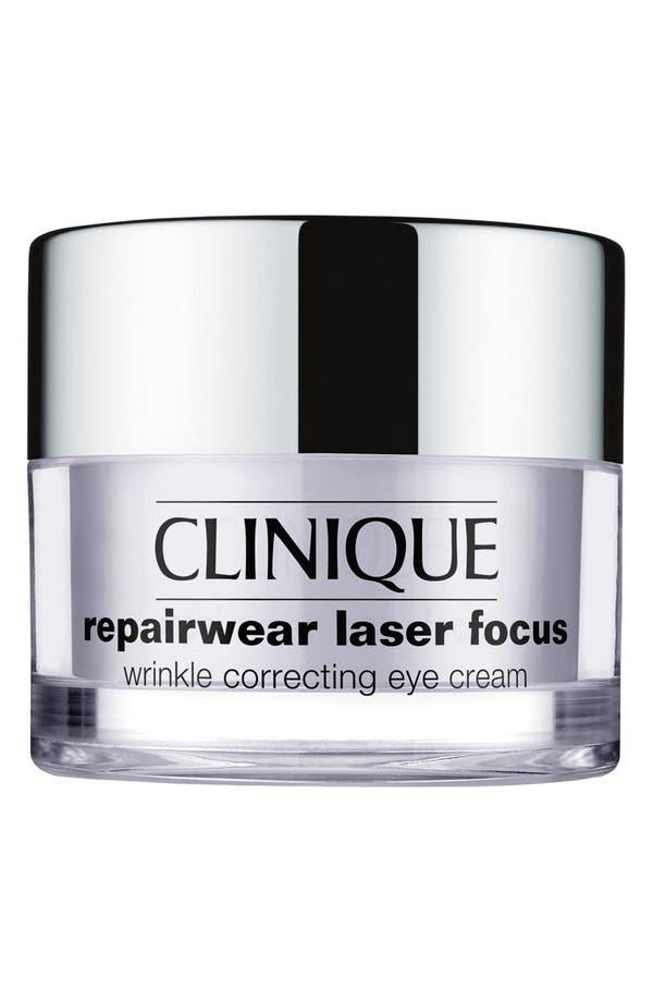 Alternate Image 1 Selected - Clinique 'Repairwear Laser Focus' Wrinkle Correcting Eye Cream