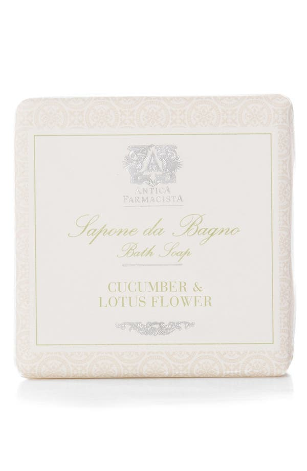 ANTICA FARMACISTA 'Cucumber & Lotus Flower' Bar Soap