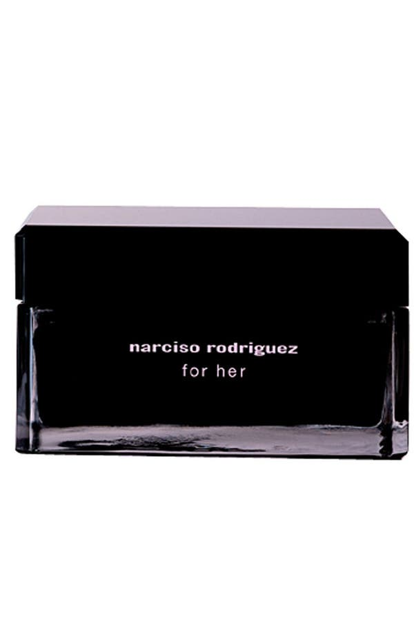 Alternate Image 1 Selected - Narciso Rodriguez 'For Her' Body Cream