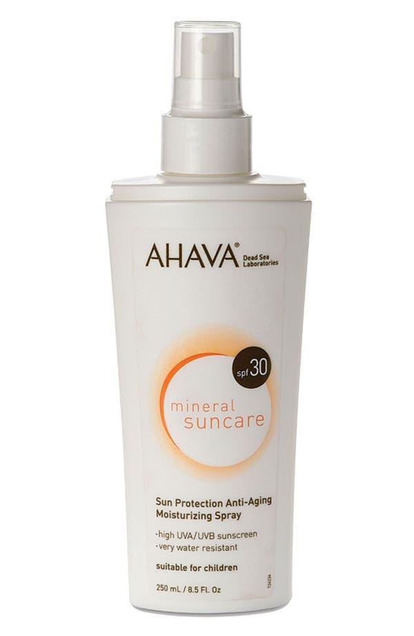 Main Image - AHAVA 'Mineral Suncare' Sun Protection Anti-Aging Moisturizing Spray SPF 30