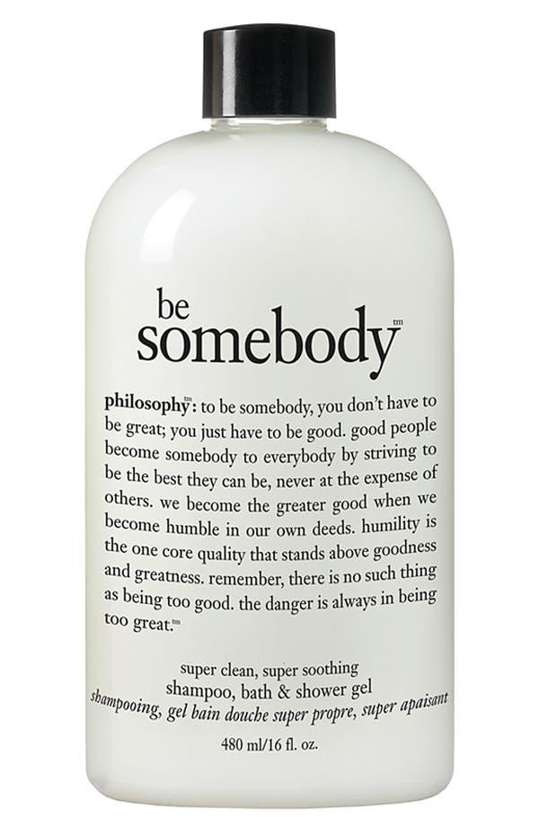 Alternate Image 1 Selected - philosophy 'be somebody' shampoo, bath & shower gel