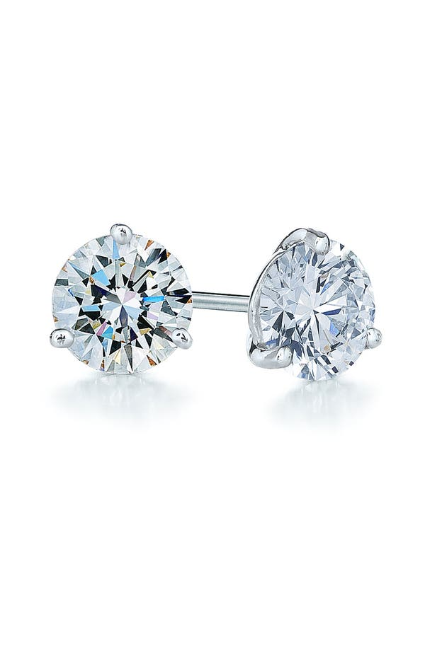 Alternate Image 1 Selected - Kwiat 1.50ct tw Diamond & Platinum Stud Earrings