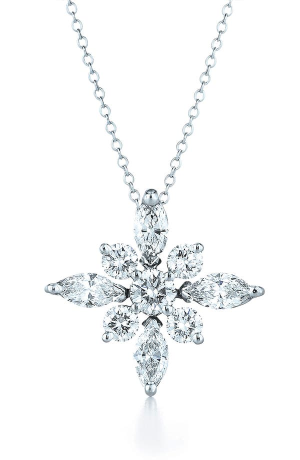 Alternate Image 1 Selected - Kwiat .44ct tw Diamond Star Pendant Necklace