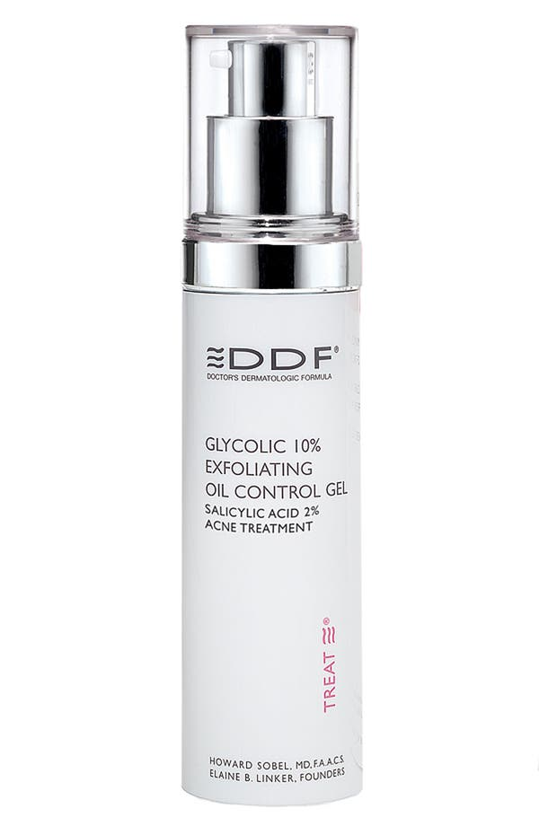 Alternate Image 1 Selected - DDF Glycolic 10% Exfoliating Oil Control Gel