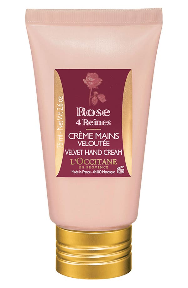 Alternate Image 1 Selected - L'Occitane 'Rose 4 Reines' Velvet Hand Cream