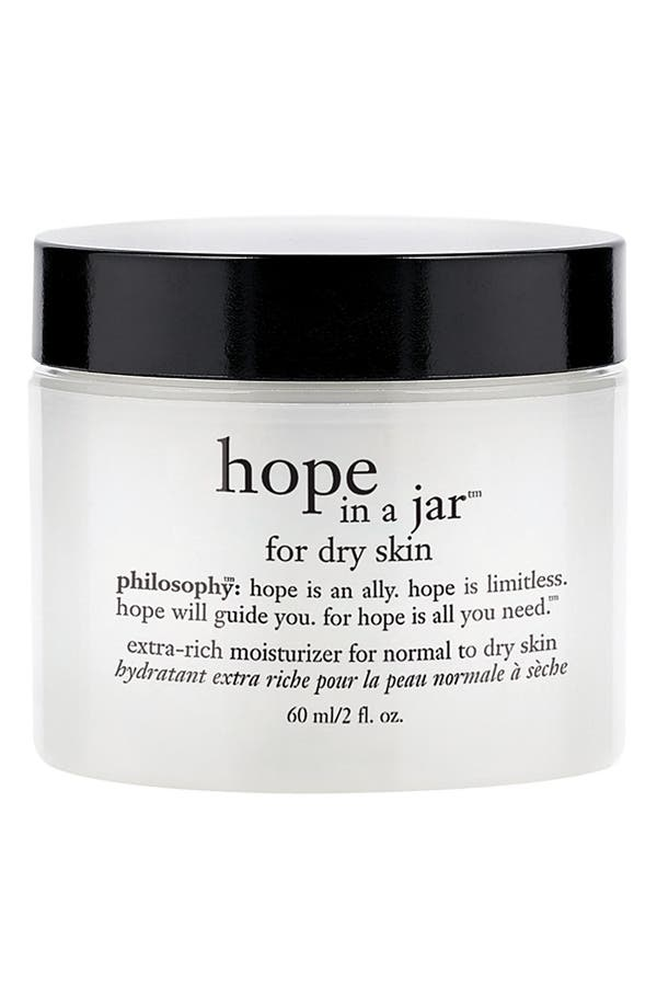 Main Image - philosophy 'hope in a jar' for dry skin