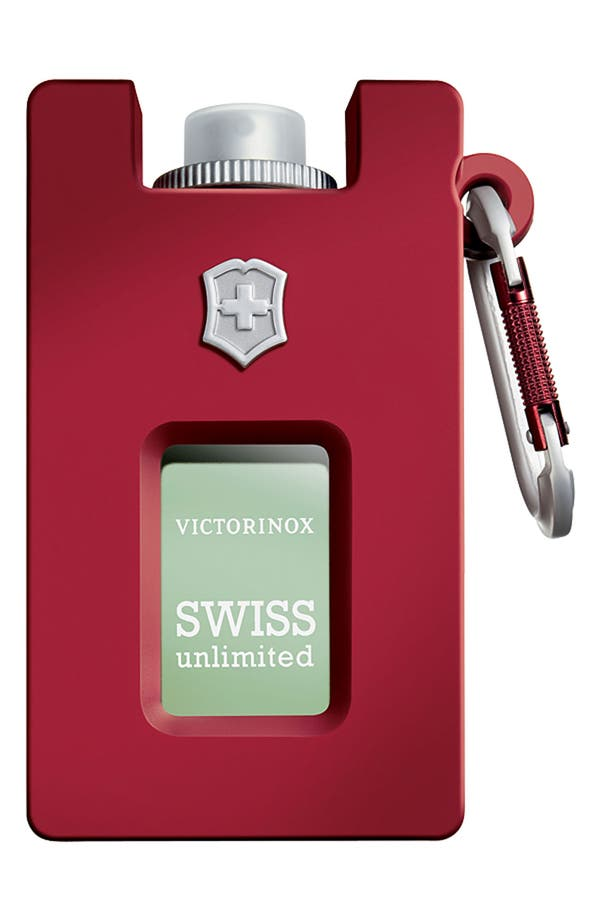 Alternate Image 1 Selected - Victorinox Swiss Army® 'Unlimited' Eau de Toilette Rubber Spray (Refillable)