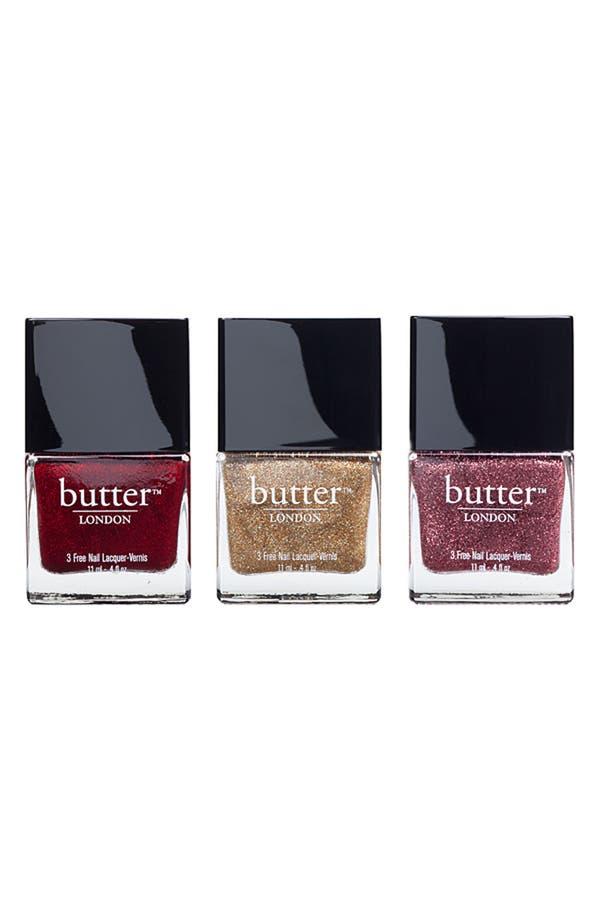 Alternate Image 1 Selected - butter LONDON Glitter Trio