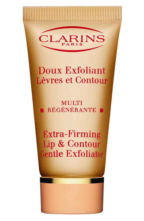 Alternate Image 1 Selected - Clarins Extra-Firming Lip & Contour Gentle Exfoliator