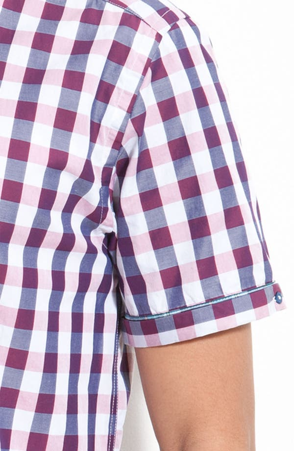 Alternate Image 3  - Ted Baker London Check Plaid Woven Shirt