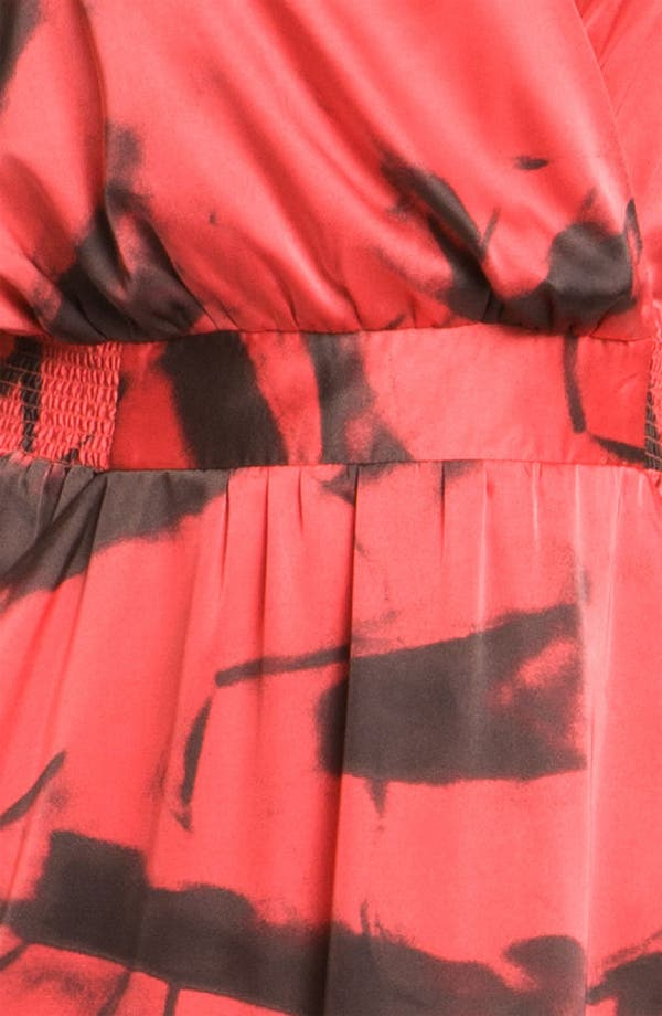 Alternate Image 3  - Vince Camuto 'Paper Abstract' Sleeveless Maxi Dress (Plus)