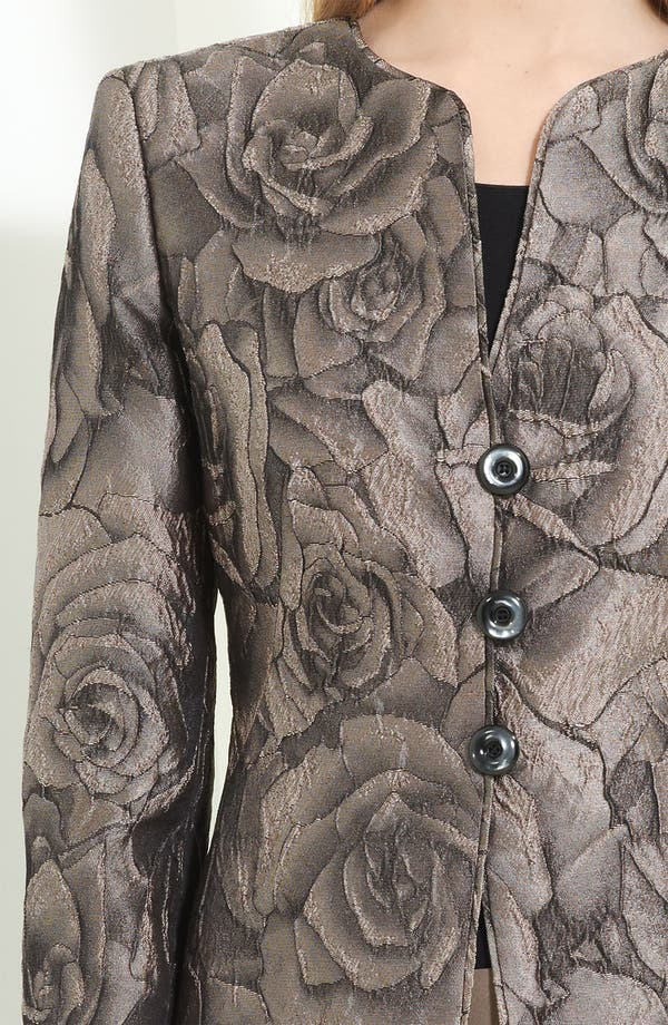 Alternate Image 3  - Armani Collezioni Floral Jacquard Jacket