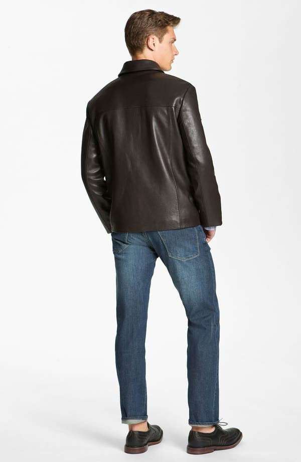 Alternate Image 5  - Cole Haan Leather Jacket (Online Exclusive)