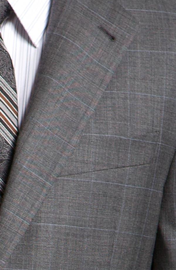 Alternate Image 6  - Joseph Abboud 'Signature Silver' Plaid Suit