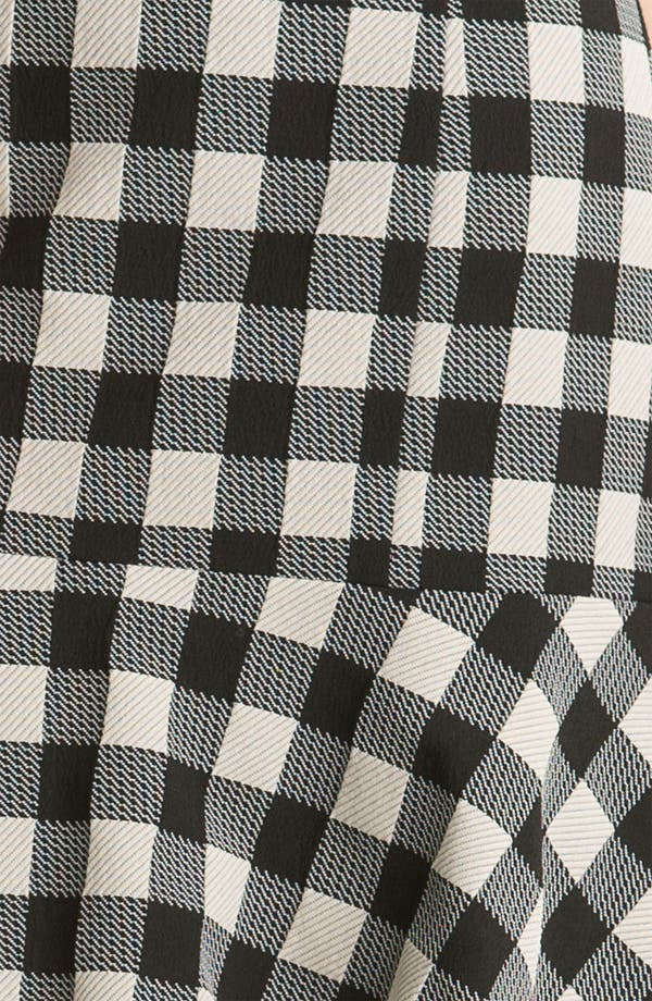 Alternate Image 3  - Tracy Reese Gingham Flare Skirt