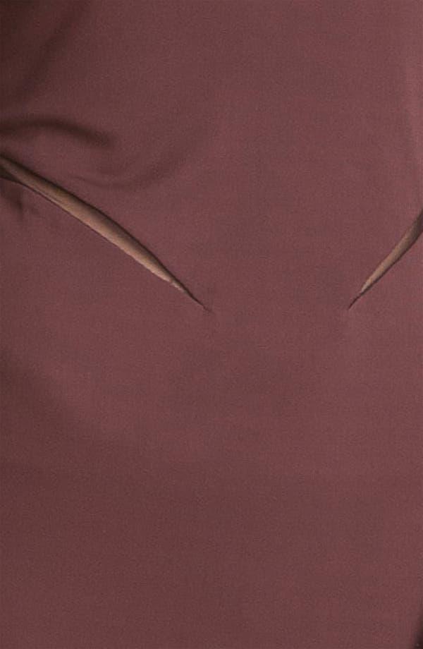Alternate Image 3  - T by Alexander Wang Mesh Inset Knit Sheath Dress