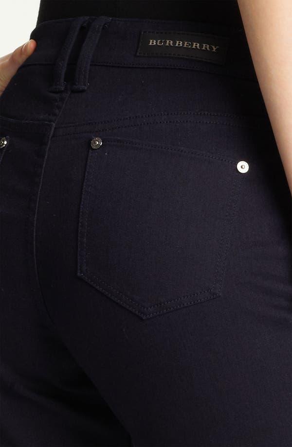 Alternate Image 3  - Burberry London Flare Leg Stretch Jeans