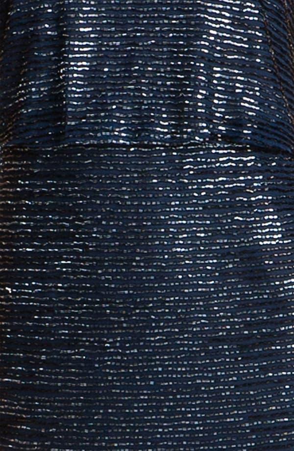 Alternate Image 3  - Adrianna Papell Beaded Mesh Cocktail Dress