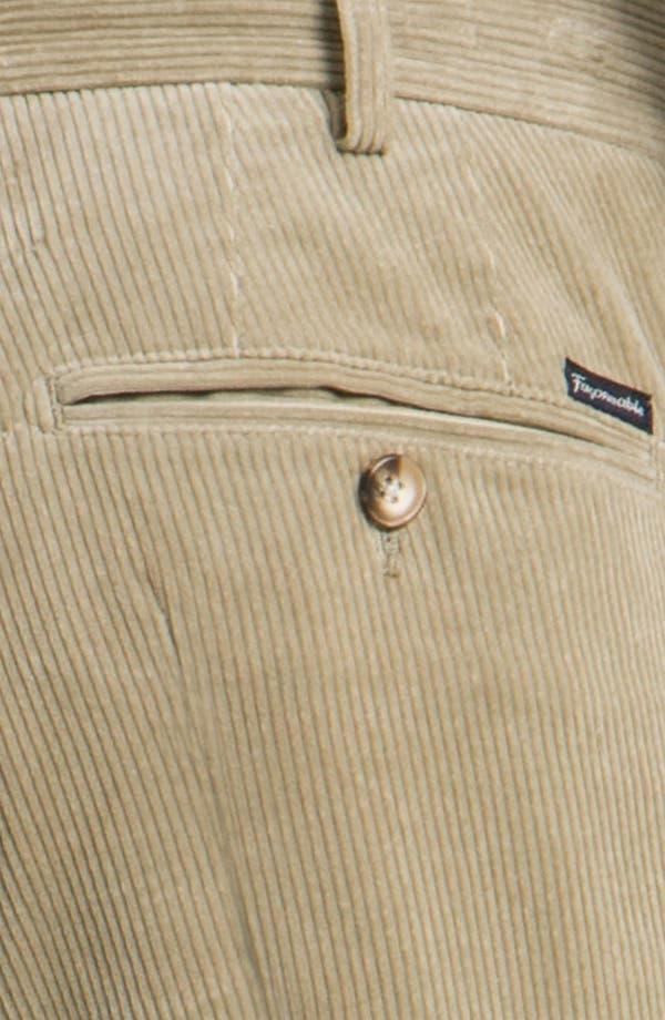 Alternate Image 3  - Façonnable Corduroy Pants