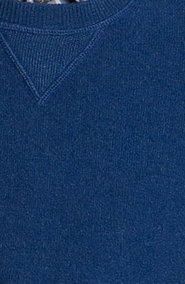 Alternate Image 3  - Hickey Freeman Wool & Cashmere Sweatshirt