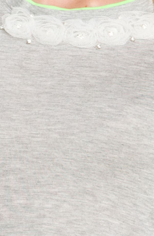 Alternate Image 3  - Heed Rosette Trim Tee