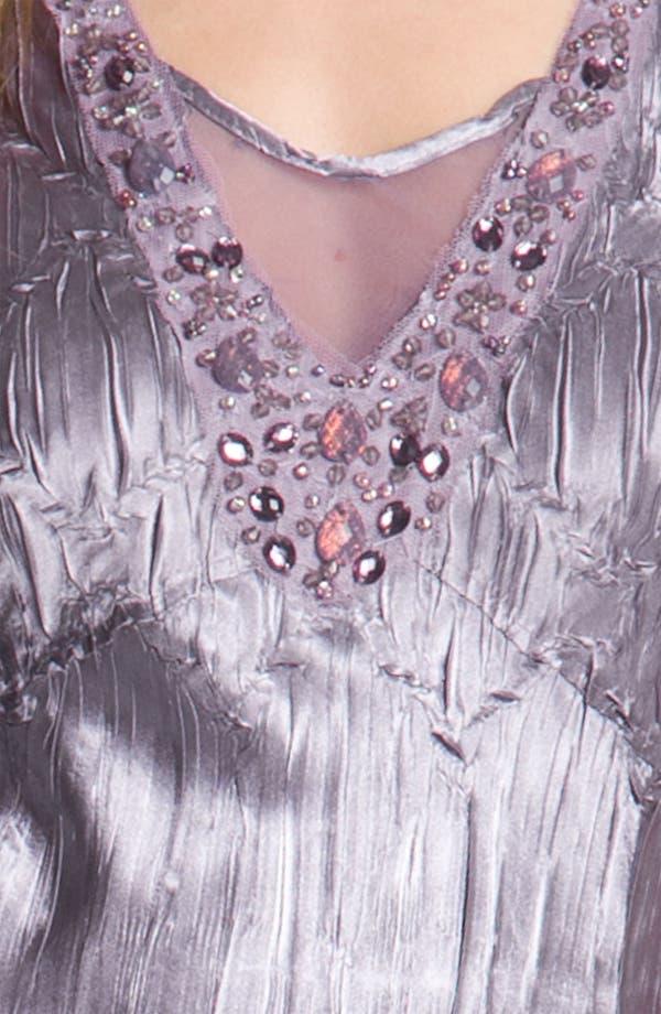 Alternate Image 4  - Komarov Sheer Panel Charmeuse Dress & Chiffon Jacket