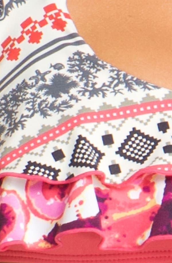 Alternate Image 3  - Maaji 'Nordic Sonar' Ruffle Bikini Top
