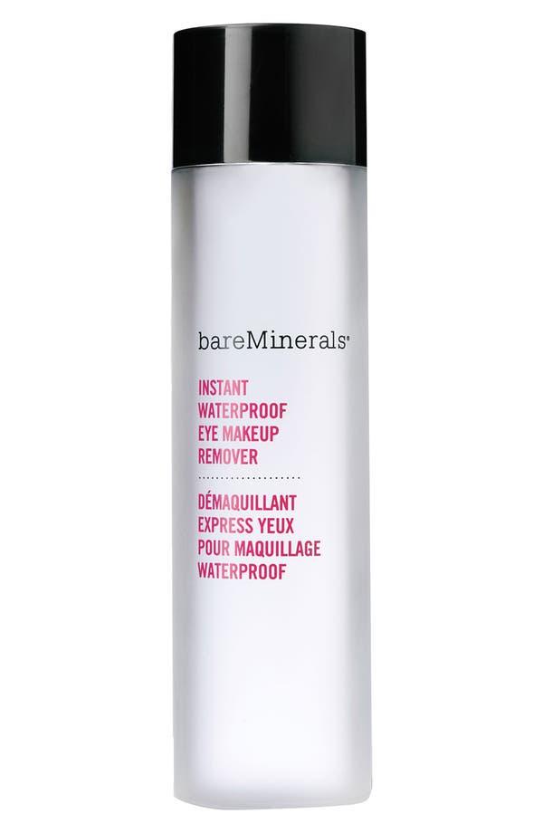 Alternate Image 1 Selected - bareMinerals® Instant Waterproof Eye Makeup Remover (4 oz.)