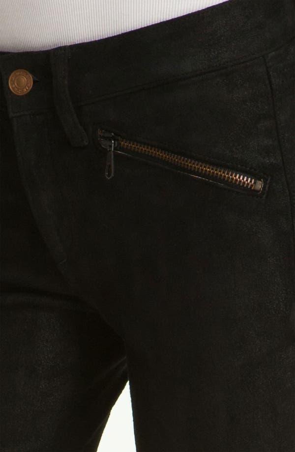 Alternate Image 4  - rag & bone/JEAN Stretch Leather Leggings