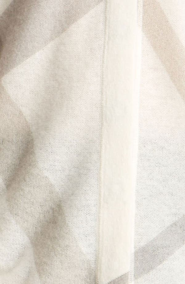 Alternate Image 4  - Burberry Brit Reversible Wool & Cashmere Cardigan
