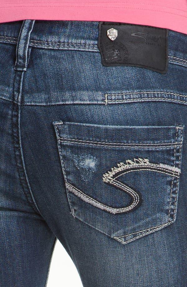 Alternate Image 3  - Silver Jeans Co. 'Manchester' Straight Leg Jeans (Juniors)