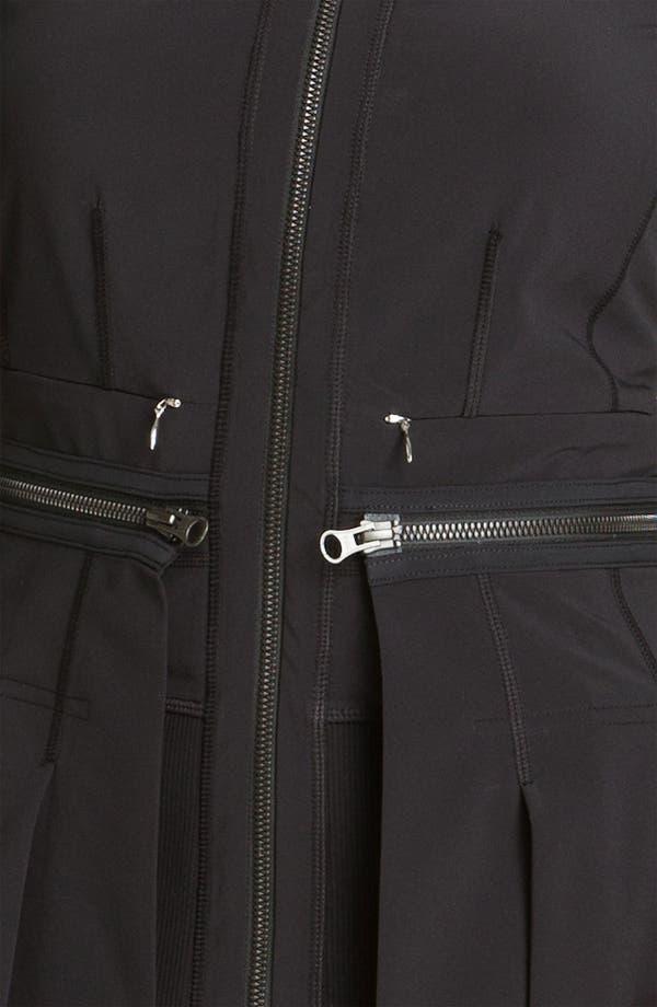 Alternate Image 3  - Zella Zip Off Peplum Jacket