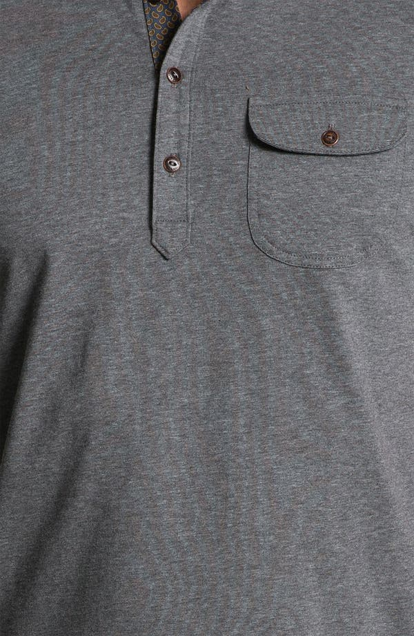 Alternate Image 3  - Ted Baker London 'Saturdy' Woven Collar Polo