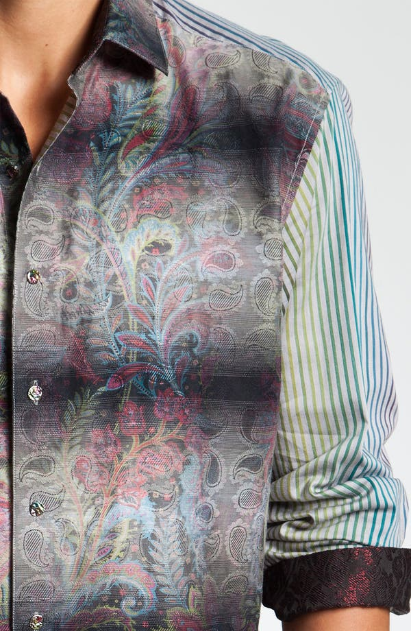 Alternate Image 4  - Robert Graham 'Quintain' Sport Shirt (Limited Edition)