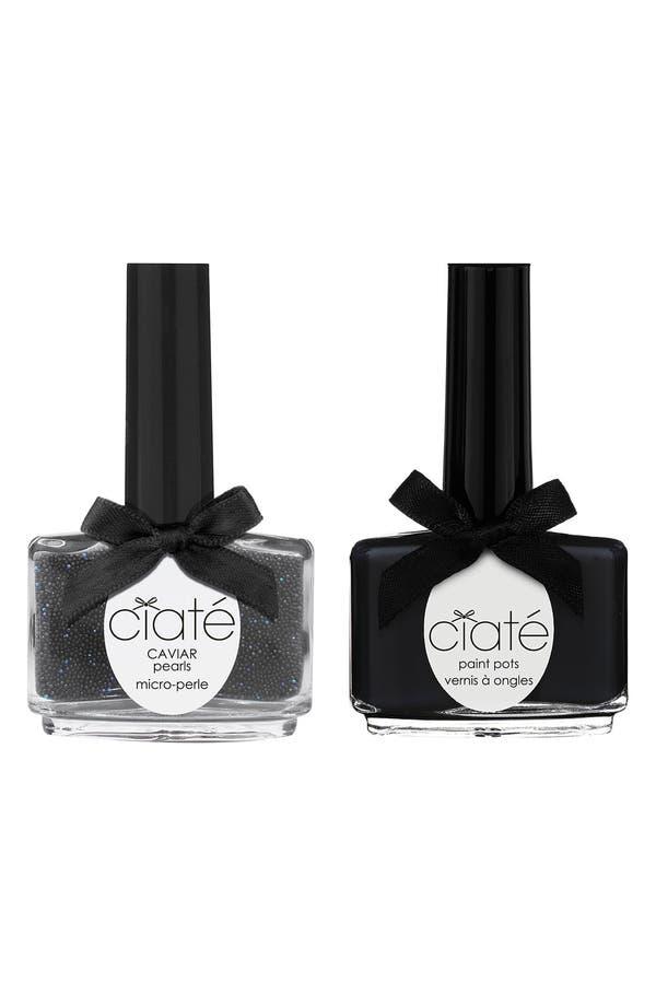 Alternate Image 1 Selected - Ciaté 'Caviar Manicure™ - Black Pearls' Set
