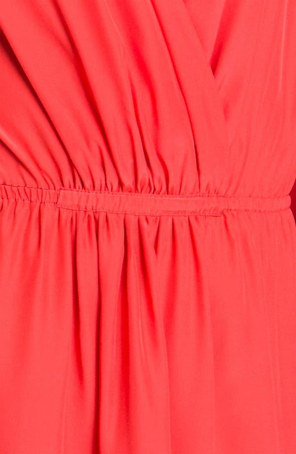 Alternate Image 3  - ALICE & TRIXIE 'Joyce' Surplice Silk Blouson Dress