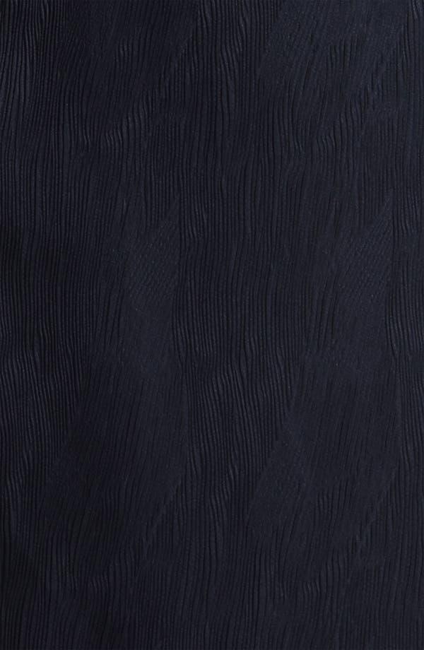 Alternate Image 3  - Adrianna Papell Colorblock Bateau Neck Jacquard Sheath Dress (Plus)