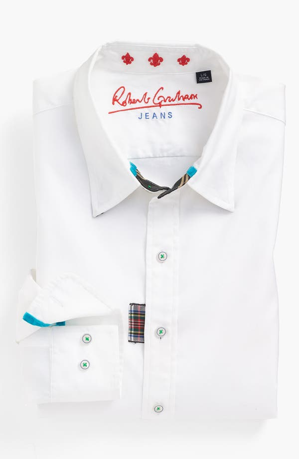 Alternate Image 4  - Robert Graham 'Monkey Tail' Sport Shirt