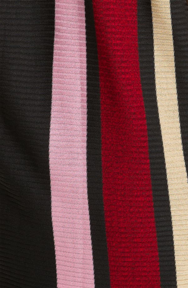 Alternate Image 3  - Exclusively Misook Stripe Ribbed Sweater Vest (Plus)