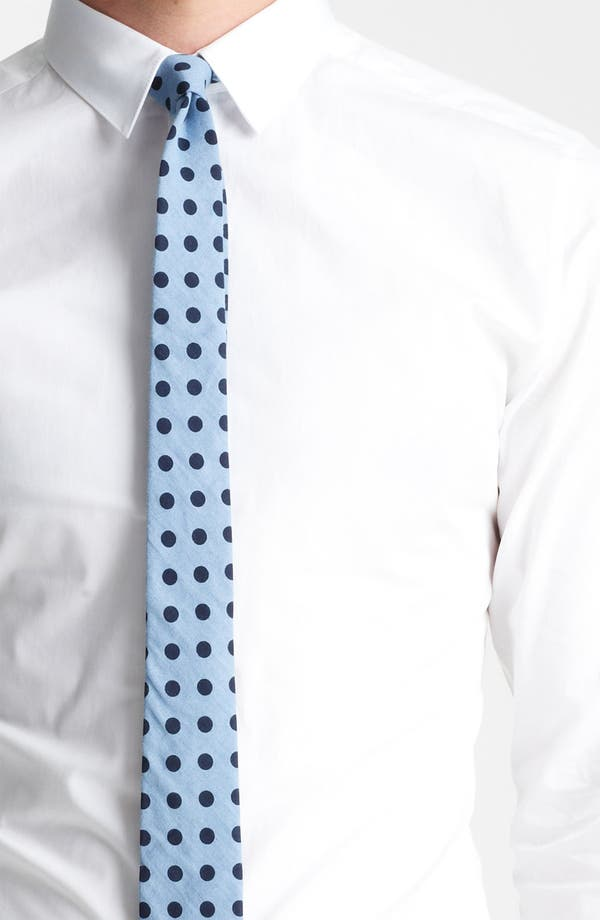 Alternate Image 3  - Topman 'Smart' Extra Trim Dress Shirt