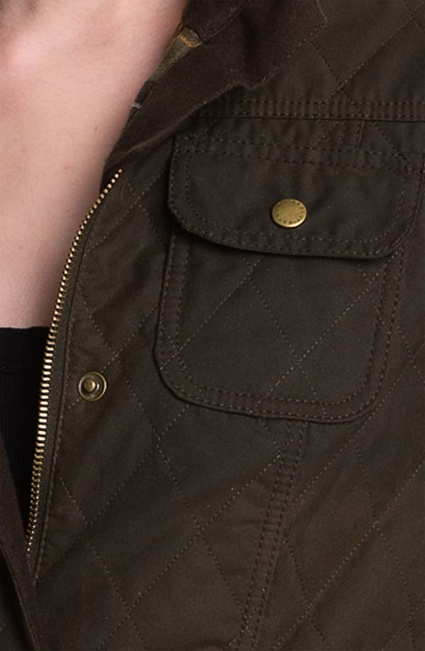 Alternate Image 4  - Barbour Quilted Utility Jacket