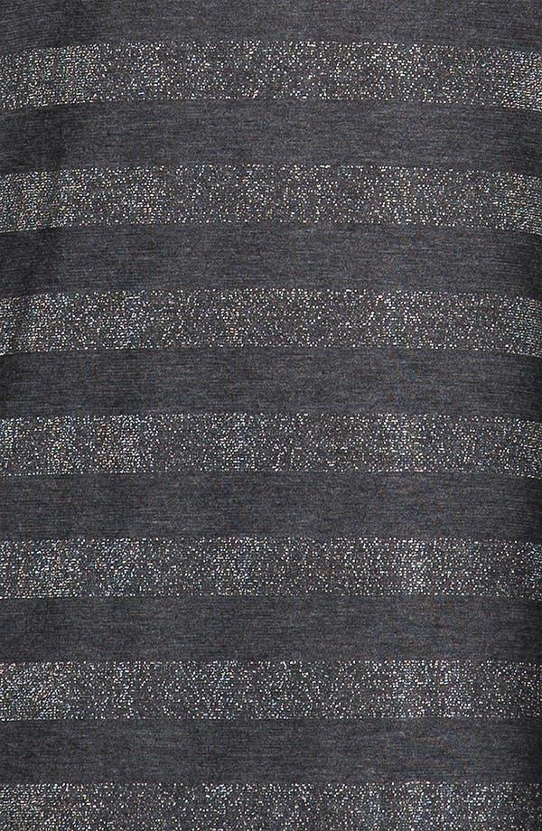 Alternate Image 3  - Nation LTD 'Oregon' Metallic Stripe Tee (Plus)