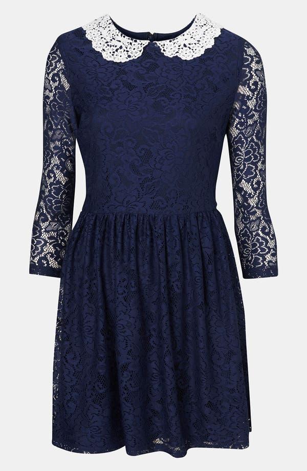 Main Image - Topshop Lace Dress