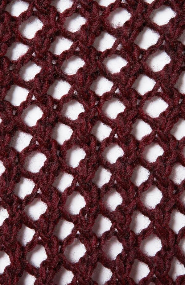 Alternate Image 3  - Topshop Chunky Net Knit Sweater