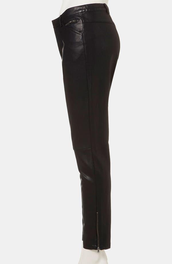 Alternate Image 4  - Topshop 'Kat' Faux Leather Biker Pants