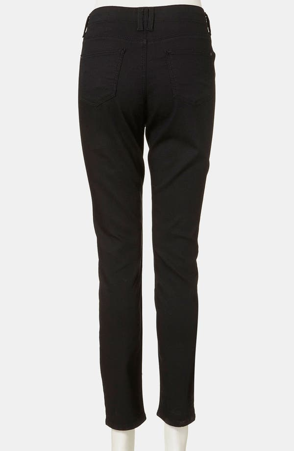 Alternate Image 3  - Topshop 'Leigh' Maternity Skinny Jeans